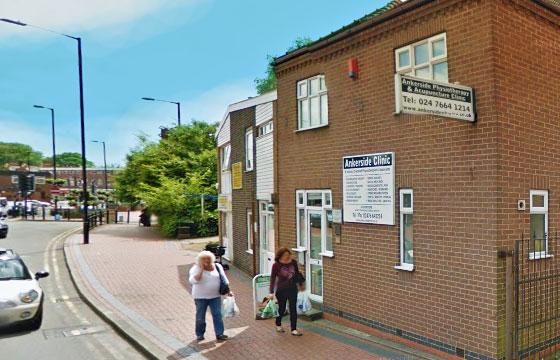Ankerside Physiotherapy Clinic Nuneaton